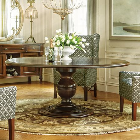 Current Serrato Pedestal Dining Tables In Asolo 71 Dining Table (View 10 of 25)
