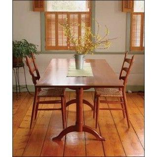 Current Shaker Dining Tablefine Woodworking – Woodworking Inside Larkin (View 18 of 25)