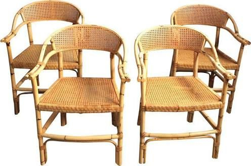 Current Wicker Bamboo Chairs (View 21 of 25)