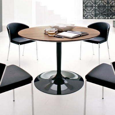 """Current Wilkesville 47'' Pedestal Dining Tables Intended For Calligaris Planet Table, 47"""" Wide (View 20 of 25)"""