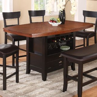 Dallin Bar Height Dining Tables Regarding Fashionable Williams Import Co (View 3 of 25)