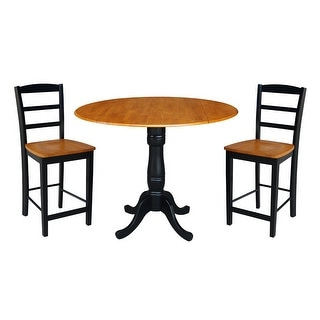 """Dawid Counter Height Pedestal Dining Tables With Popular Shop 42"""" Round Pedestal Gathering Height Table With (View 2 of 25)"""