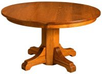 Dawna Pedestal Dining Tables Inside Widely Used Stanford Large Extendable Dining Table – Countryside Amish (View 3 of 25)