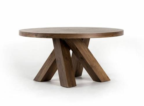 Dawna Pedestal Dining Tables Within Best And Newest Multi Splayed Leg Dining Table (View 8 of 25)