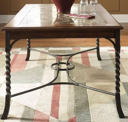 Dellaney 35'' Iron Dining Tables For Fashionable 35 Best Kitchen Table Bases & Ideas Images On Pinterest (View 4 of 25)