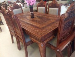 Dellaney 35'' Iron Dining Tables Intended For Most Recent Antique Dining Table At Best Price In India (View 17 of 25)
