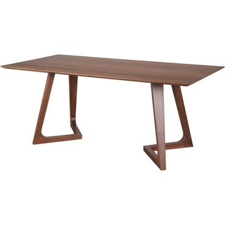Dellaney 35'' Iron Dining Tables With Regard To Most Recently Released Shop Aurelle Home Round Solid American Walnut Mid Century (View 16 of 25)