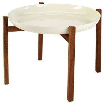 Design House Stockholm Tablo Tray & Stand – Modern – Side Within Famous Bobby Berk Trestle Dining Tables (View 17 of 25)