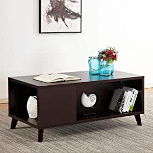 Desiree 47.2'' Pedestal Dining Tables With Regard To Preferred Amazon: Soges Soges Coffee Table Console Table (View 12 of 25)