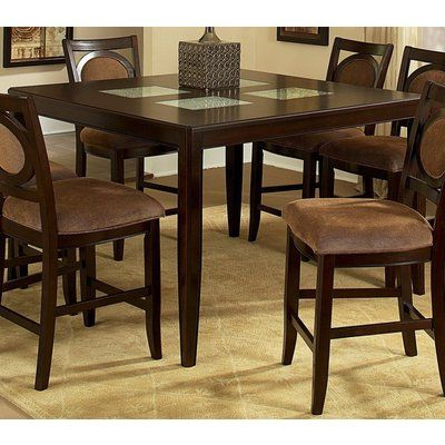 Desloge Counter Height Trestle Dining Tables Pertaining To Widely Used Steve Silver Montblanc 54x36 Counter Height Table 54 X (View 23 of 25)