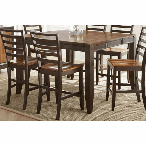 Desloge Counter Height Trestle Dining Tables Throughout Most Recently Released Ab500pt Abaco Counter Height Dining Table From The Steve (View 2 of 25)