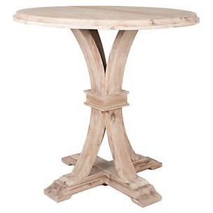"""Desmond 42"""" Round Bar Height Dining Table, Stone (View 16 of 25)"""