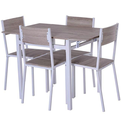 Dining Table Chairs, Pub Furniture, Drop Inside Favorite Midtown Solid Wood Breakroom Tables (View 7 of 25)
