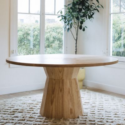 Dining Table With Best And Newest Villani Pedestal Dining Tables (View 24 of 25)