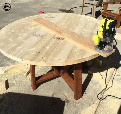 Diy Dining Table, Round (View 21 of 25)