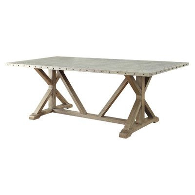 Driftwood Dining Table, Dining Table With Regard To Trendy Anzum (View 22 of 25)