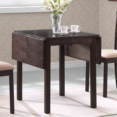 Drop Leaf Rectangular Kitchen & Dining Tables You'll Love Regarding Well Liked Villani Drop Leaf Rubberwood Solid Wood Pedestal Dining Tables (View 15 of 25)