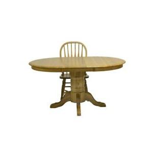 Ebay Inside Newest Servin 43'' Pedestal Dining Tables (View 10 of 25)