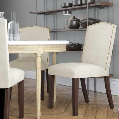 Edmondson Dining Tables Within Newest White Dining Chairs (View 7 of 25)