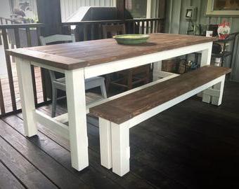 Etsy Regarding Most Recent Steven 55'' Pedestal Dining Tables (View 15 of 25)