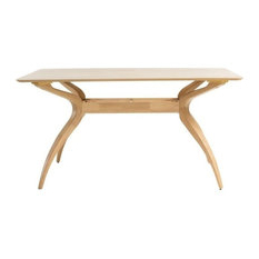 Famous 50 Most Popular Wooden Rectangular Dining Room Tables For Regarding Cammack (View 8 of 25)