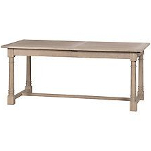 Famous Adejah 35'' Dining Tables With Regard To Buy Neptune Edinburgh 8 10 Seater Extending Dining Table (View 22 of 25)
