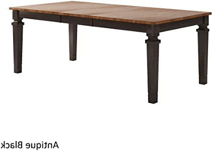 Famous Amazon – Inspire Q Elena Solid Wood Extendable With Katarina Extendable Rubberwood Solid Wood Dining Tables (View 17 of 25)
