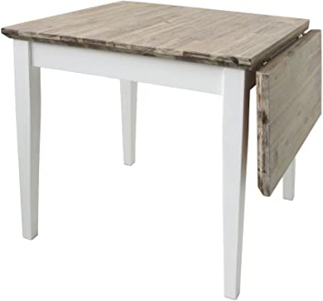 Famous Florence Square Extended Table (75 110cm). White Extending With Nolea (View 7 of 25)