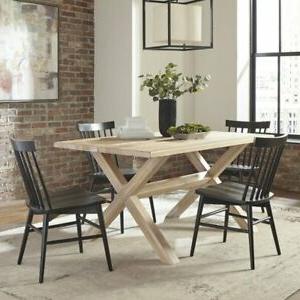 Famous Grain Wood Furniture Montauk Trestle Table Solid Wood Regarding Montauk (View 18 of 25)