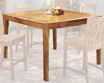 Famous Intercon Solid Oak Counter Height Dining Table Cambridge With Regard To Dankrad Bar Height Dining Tables (View 6 of 25)