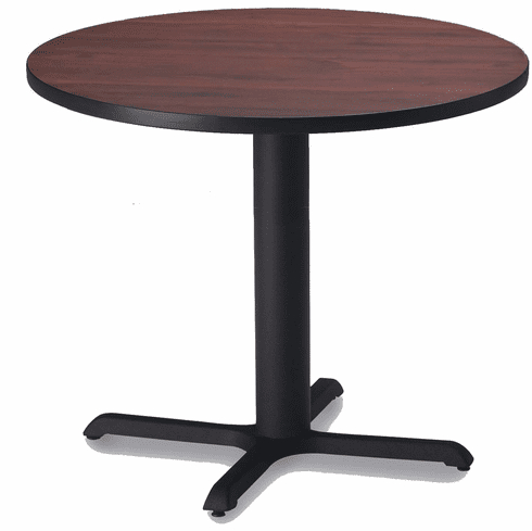 """Famous Menifee 36'' Dining Tables With Mayline Bistro 36"""" Round Dining Height Table Black, Regal (View 25 of 25)"""