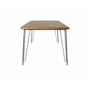 Famous Nalan 38'' Dining Tables With Hairpin Rectangular Dining Tablethe Orchard Furniture (View 10 of 25)