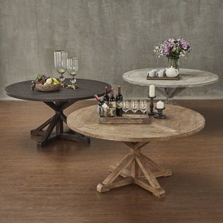 Famous Signal Hills Benchwright Rustic X Base 60 Inch Round With Adsila 24'' Dining Tables (View 5 of 25)