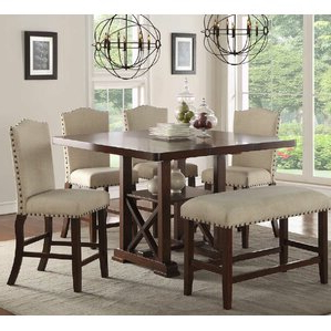 Famous Square Kitchen & Dining Tables You'll Love (View 8 of 25)