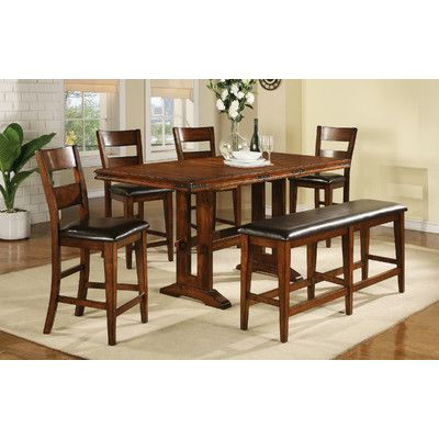 Fashionable Nashoba Counter Height Extendable Dining Table In 2020 Throughout Counter Height Pedestal Dining Tables (View 11 of 25)