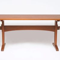 Fashionable Riverdale Trestle Table – Eben Blaney – Fine Contemporary Within Nerida Trestle Dining Tables (View 16 of 25)