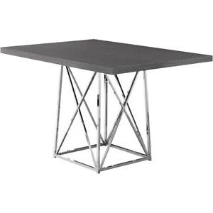 Favorite Hitchin 36'' Dining Tables Regarding Decovio 15229 G Massena 48 X 36 Inch Grey Dining Table (View 6 of 25)
