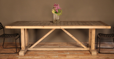 Favorite Inspiredvintage Trestle Table. Pine (View 25 of 25)