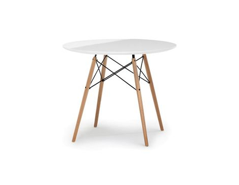 Favorite Montauk 35.5'' Pine Solid Wood Dining Tables Regarding Eiffel – Round Dining Table (View 15 of 25)