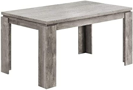 """Favorite Montauk 36'' Dining Tables Inside Amazon – Offex 36"""" X 60"""" Grey Reclaimed Wood Look (View 8 of 25)"""