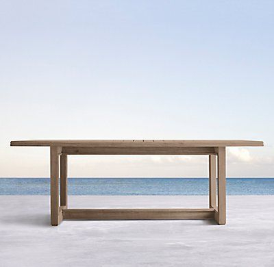Favorite Steven 39'' Dining Tables Throughout Costa Teak Rectangular Dining Table (with Images) (View 3 of 25)