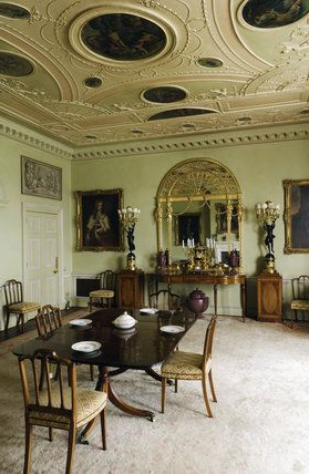 Favorite The Dining Room At Hinton Ampner, Hampshire (with Images Pertaining To Belton Dining Tables (View 19 of 25)