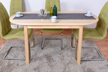 Featured Photo of Febe Pine Solid Wood Dining Tables