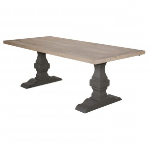 Finkelstein Pine Solid Wood Pedestal Dining Tables With Famous Stoły, Stoliki, Pomocniki – Campiolo Home In (View 2 of 25)