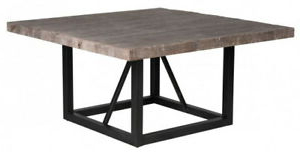 """Finkelstein Pine Solid Wood Pedestal Dining Tables Within Well Known 60"""" W Luke Square Dining Table Distressed Pine Wood Top (View 20 of 25)"""