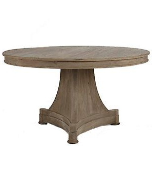 French Country Dining Table, Round (View 4 of 25)
