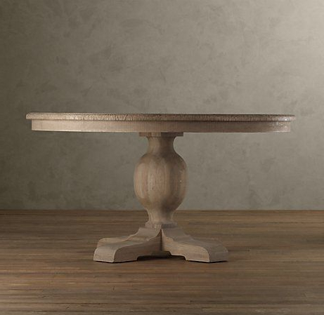 French Urn Pedestal Round Dining Table (View 18 of 25)