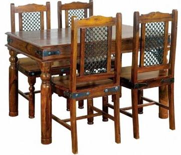 Ganga Small Dining Table Regarding Preferred Genao 35'' Dining Tables (View 21 of 25)