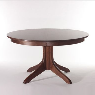 Gaspard Extendable Maple Solid Wood Pedestal Dining Tables In Popular Custom The Johnson Pedestal Tablegary Weeks And (View 6 of 25)