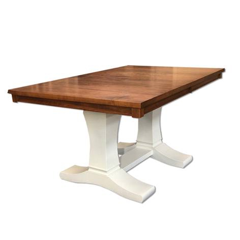 Gaspard Extendable Maple Solid Wood Pedestal Dining Tables With Regard To Recent Contempo Dining Table – Naked Furniture (View 10 of 25)